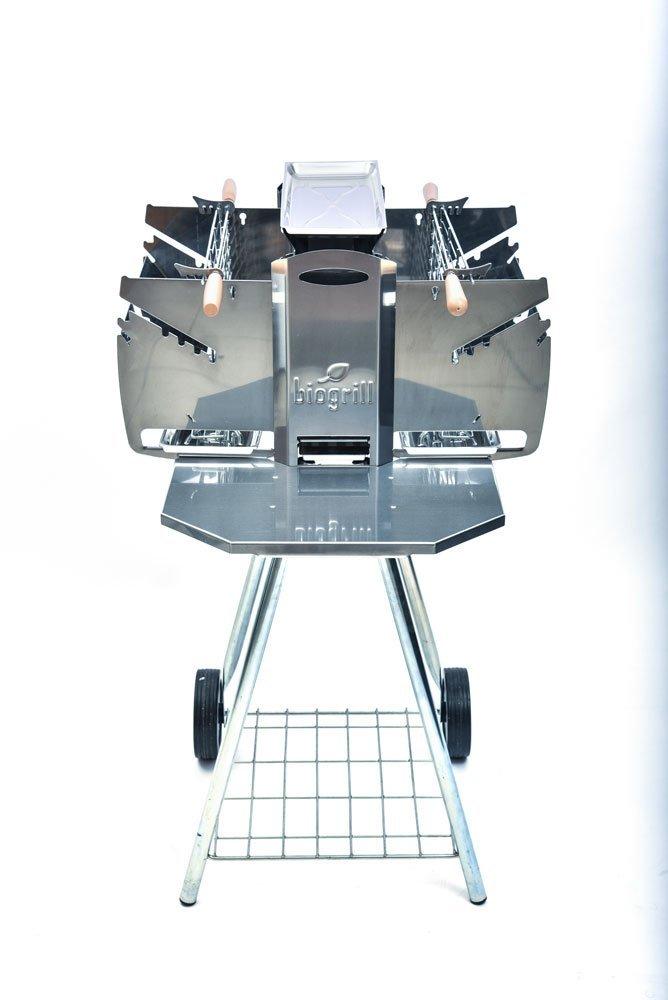 barbecue vertical Biogrill de profil