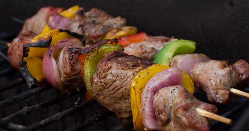 recette de brochettes au barbecue